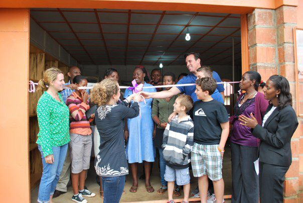 Ribbon Cutting at Dream Beauty Academy in Rwanda