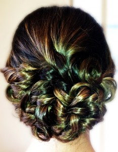 Prom Up-Do by Erika Brown
